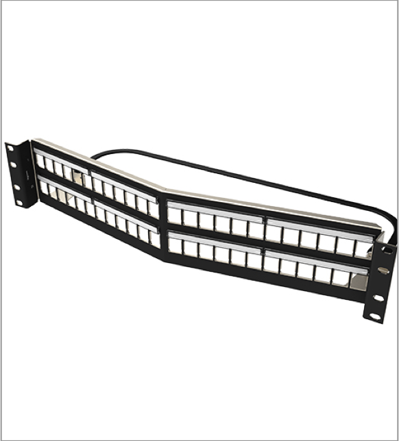 Shielded HDJS Patch Panel