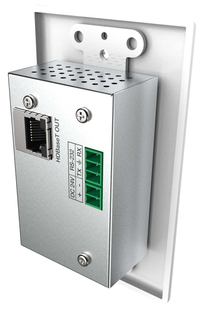 DL-1H1A-WPKT-W - Wall Plate Single Decora HDMI & 3 5mm Audio