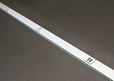 3 FT White All USB Plugmold, Also Avail 5' lengths, WH20USB312