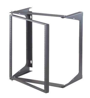 "Swing-EZ Wall Rack,  Black, 12.00""D, OR-19-21-T12DB"