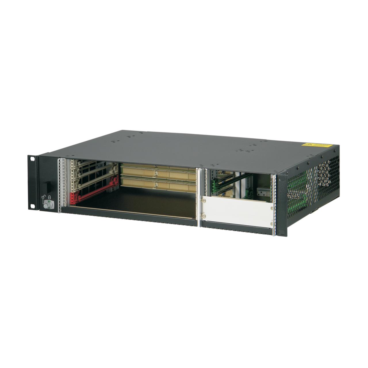 Image for CompactPCI 2 U, 4 slot, with rear I/O, for 19