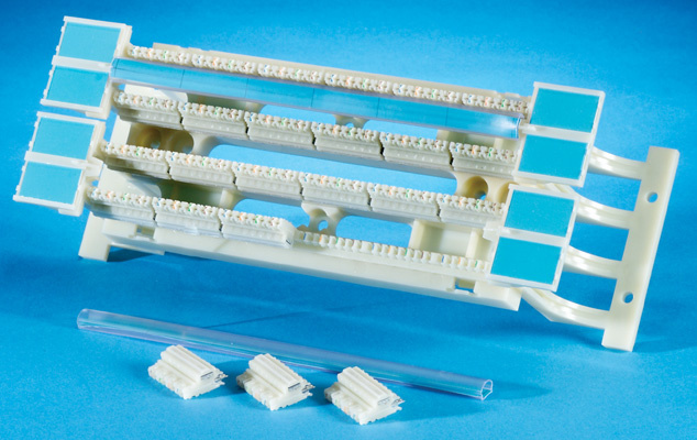 Clarity 6 110 Block Kit, with legs, Category 6, 96-pair, 100-pair footprint, OR-110ABC6100