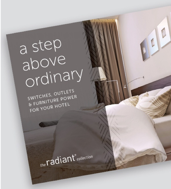 cover of radiant Collection by Legrand hospitality brochure