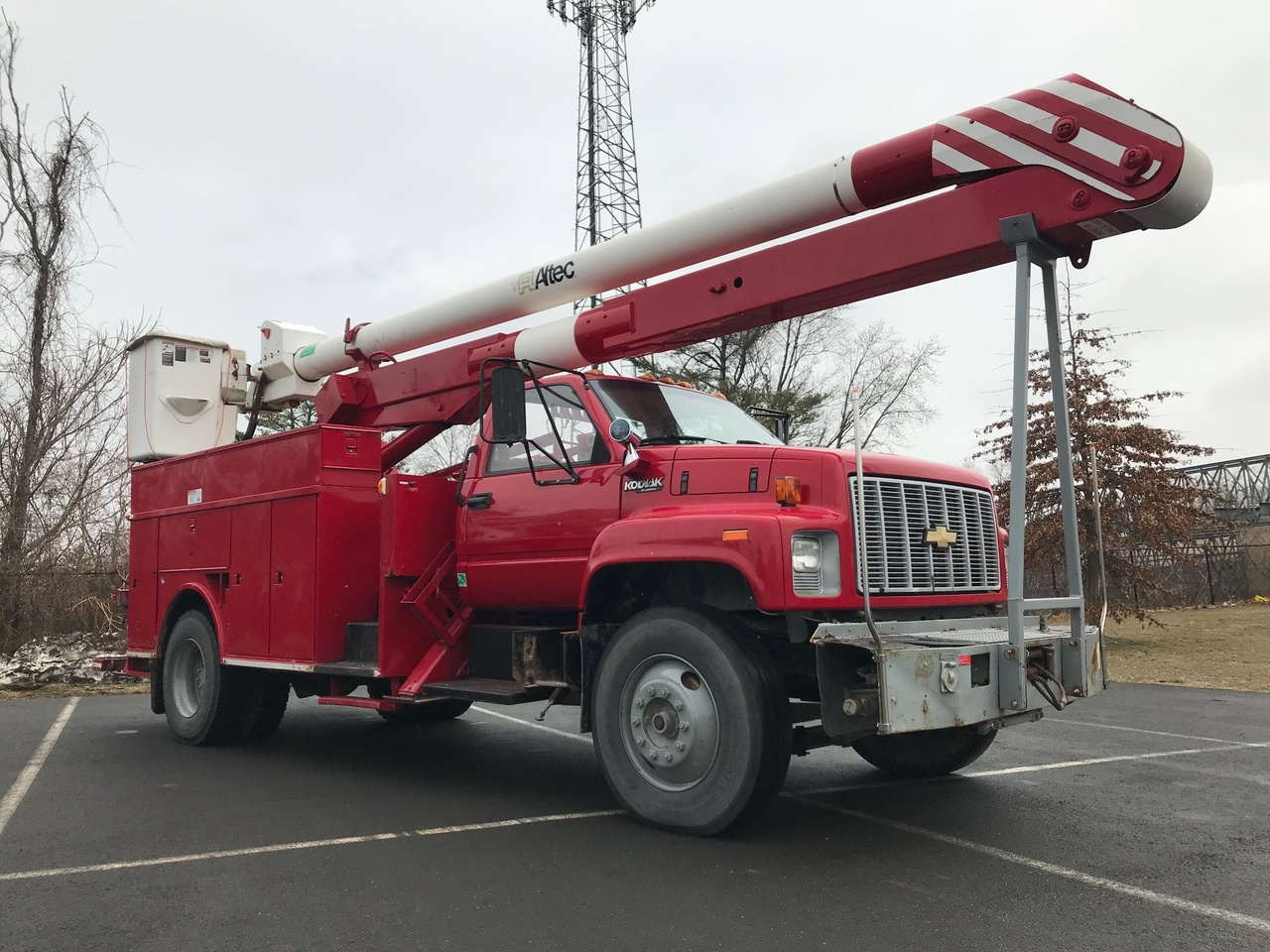 1993 Chevrolet KODIAK 4x2 Altec AN652 Bucket Truck - Custom