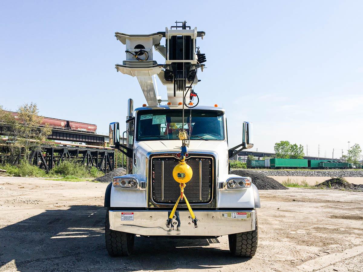 2019 Peterbilt 567 8x6 Elliott 40142R Boom Truck