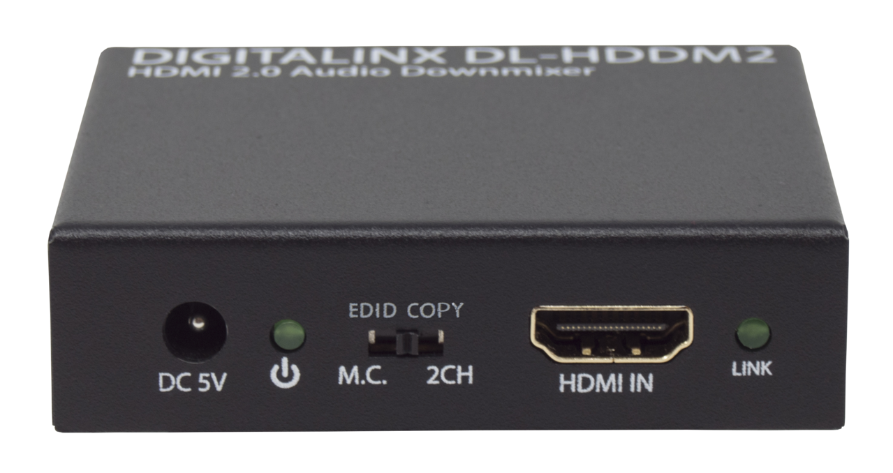 Dl Hddm2 Hdmi 20 18g Multichannel Or 2ch Audio De Embedder With 99 Electronic Toolbox 10 Combines Liberty