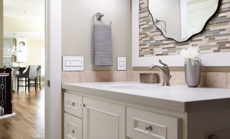 adorne installed in Traditional Bathroom