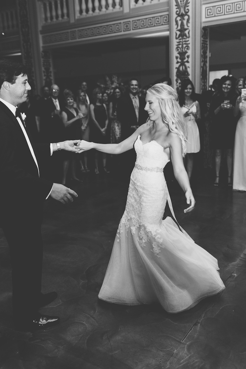 "Kendall and William's first dance was to ""At Last"" by Etta James. They thought it was the appropriate choice after dating for 11 years."