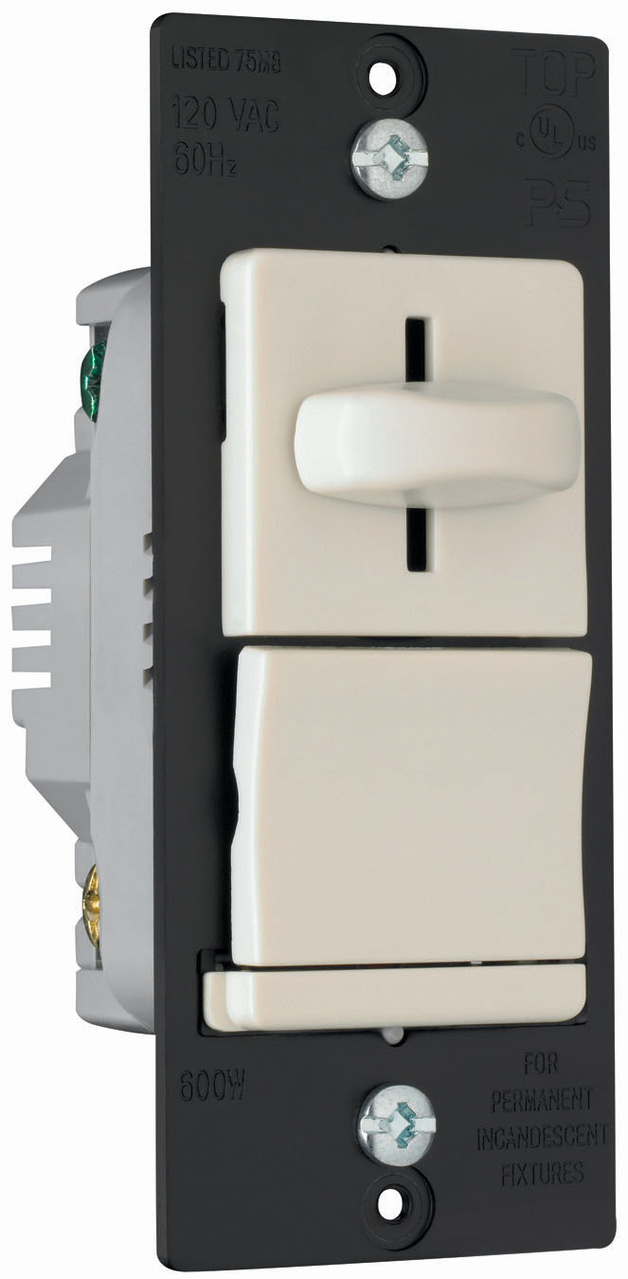 LS Series Incandescent Slide Dimmer, LS600PLA