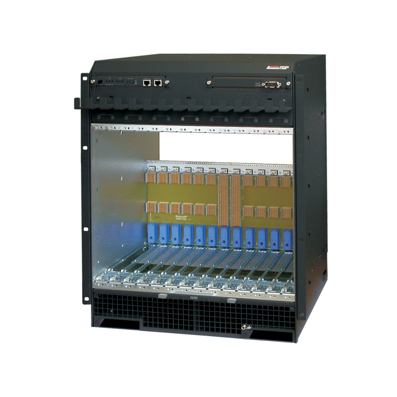 Image for AdvancedTCA 300/40 series, 13 U, 14 slot, DC from Schroff - Asia Pacific