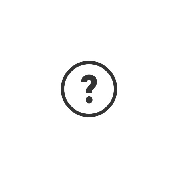 question mark button icon