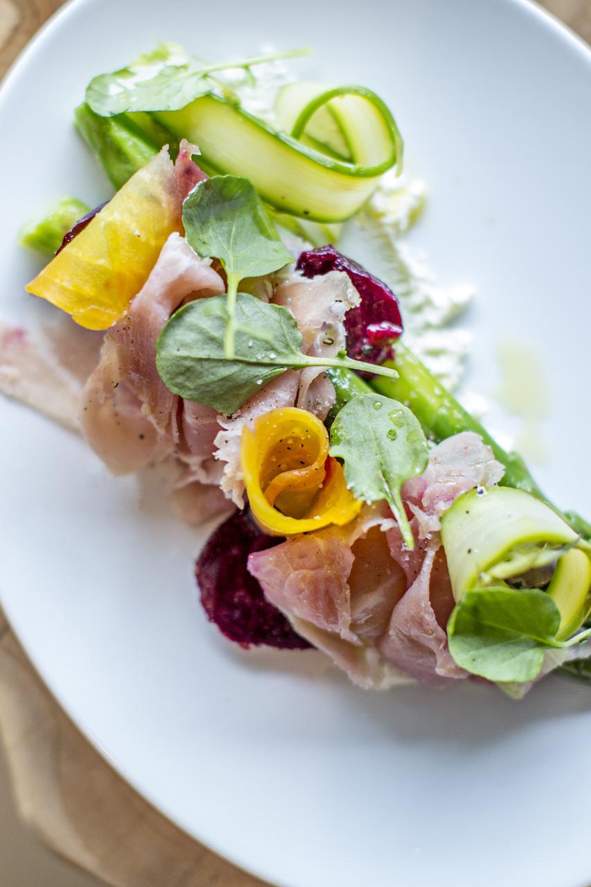 Linton's in the Garden salad