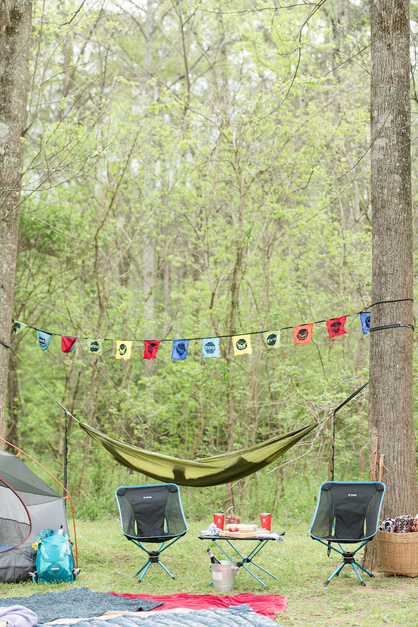 """An ENO Hammock works perfectly as a nice place to relax, to use as a picnic blanket or as a tarp to shield you from the sun,"" says Milan Ballard, marketing coordinator at Alabama Outdoors. Find the ENO Sub7 Hammock, $69.95; ENO Atlas Hammock Suspension System, $29.95; and the ENO Festy Flags, $19.95 at Alabama Outdoors."