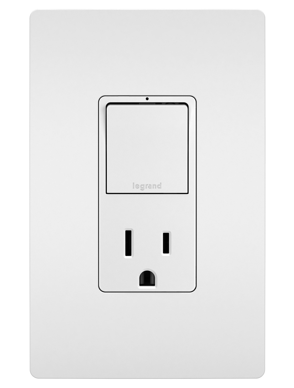 Radiant Rcd38trw Combo Single Pole 3 Way Switch 15a Tr Outlet Wiring Diagram White Legrand