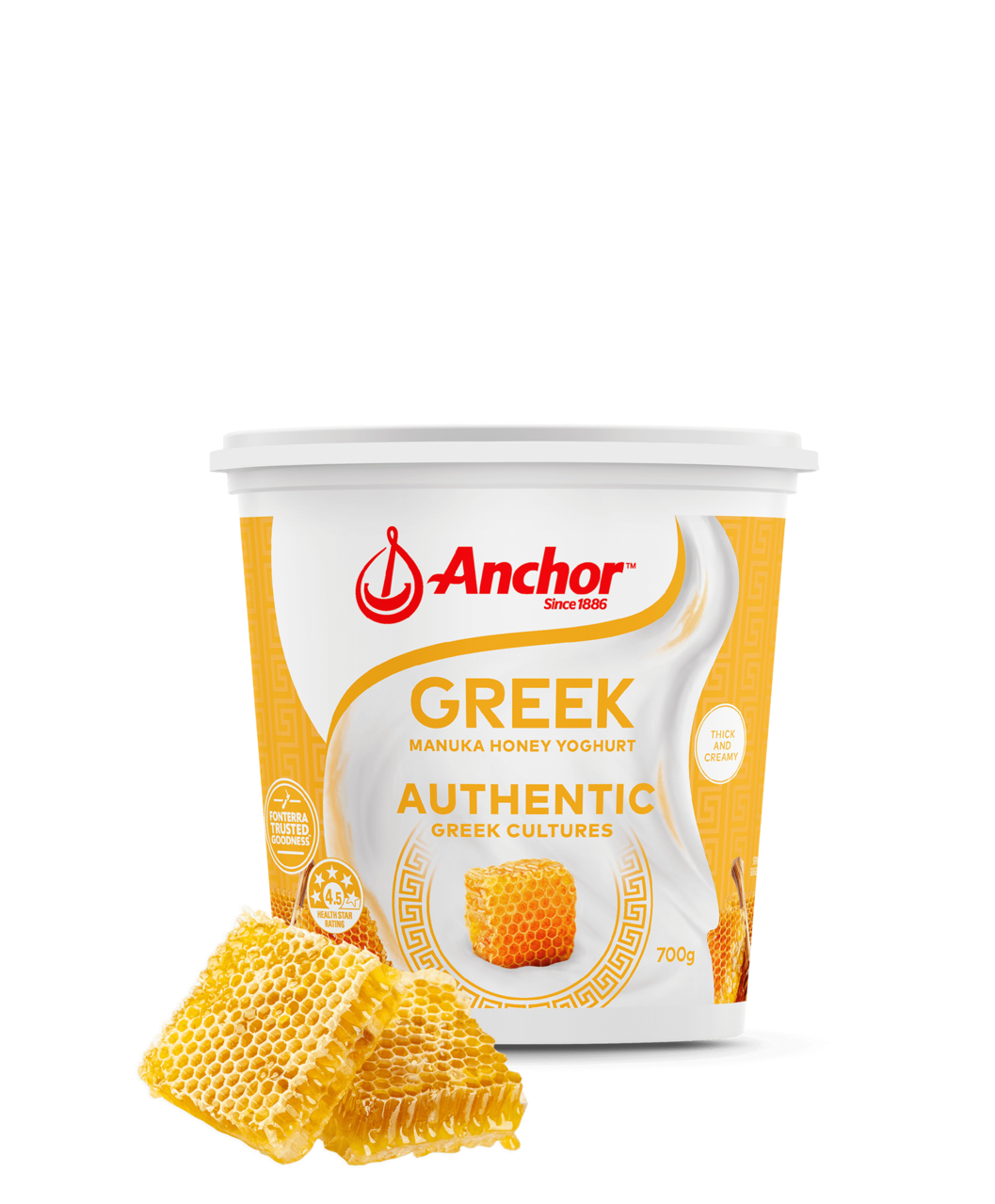 Anchor Protein+ Manuka Honey Yoghurt 950g pack