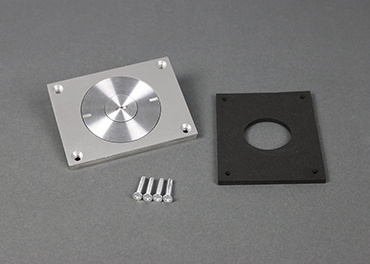 Brushed Alum. Cover Plate, 830CKTCAL-1/2