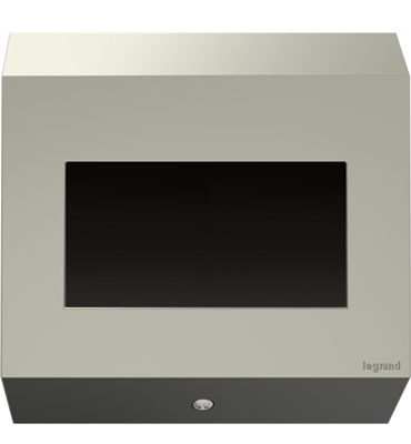Adorne Control Box In Titanium From The Adorne Collection Legrand
