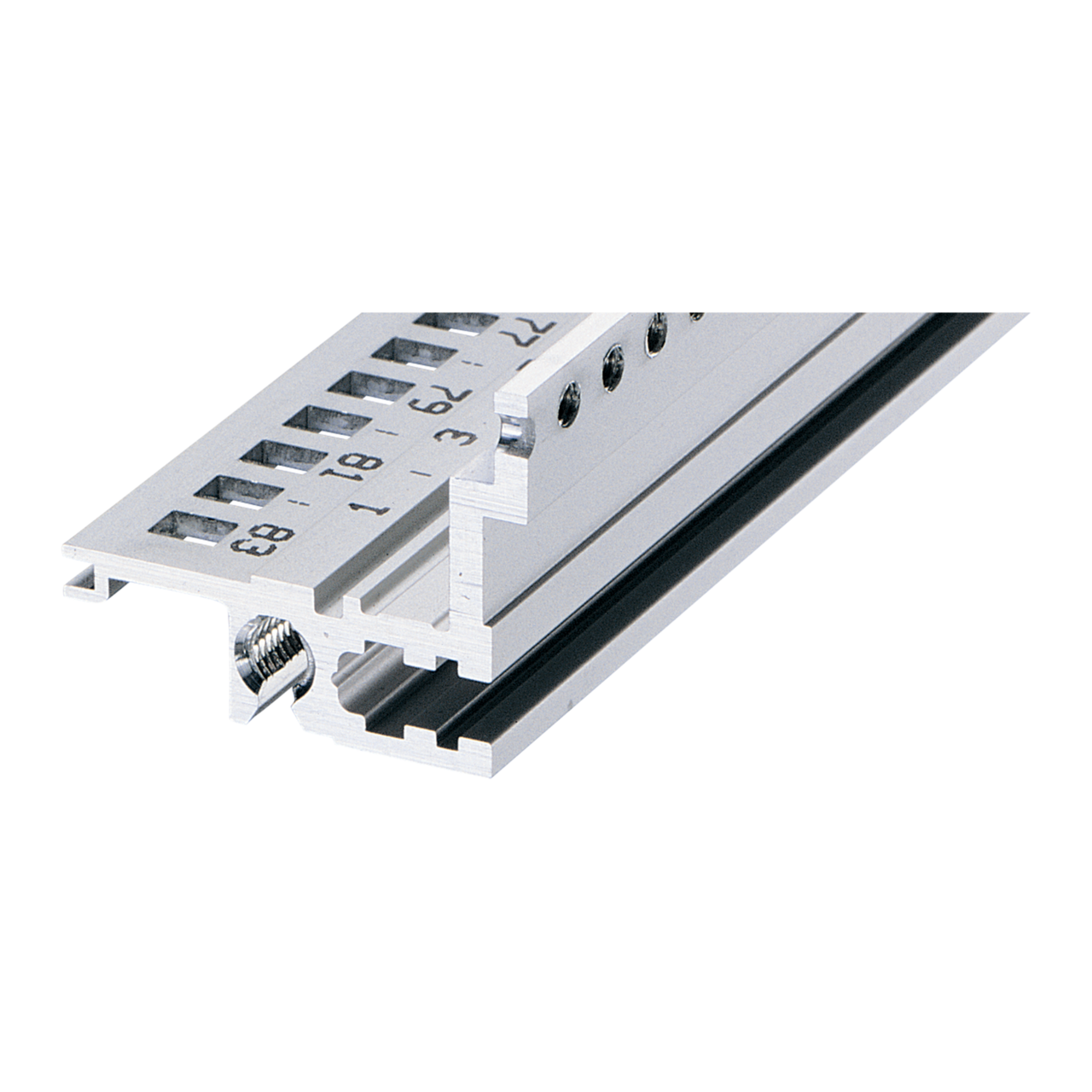 Image for Horizontal rail, rear, type L-MZ, light, with z-rail from Schroff - Asia Pacific