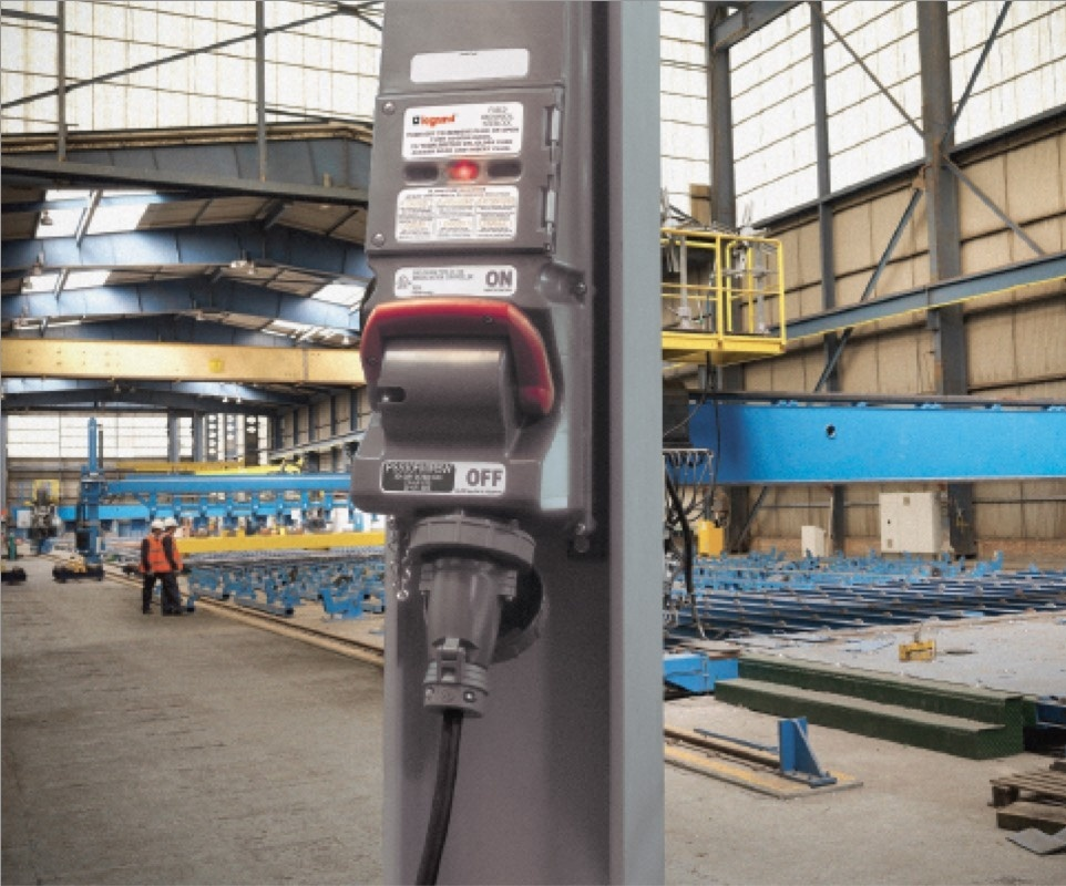 Pass and Seymour Mechanical Interlocks