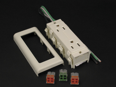 15A Isolated Ground Duplex Receptacle, IG2427GA