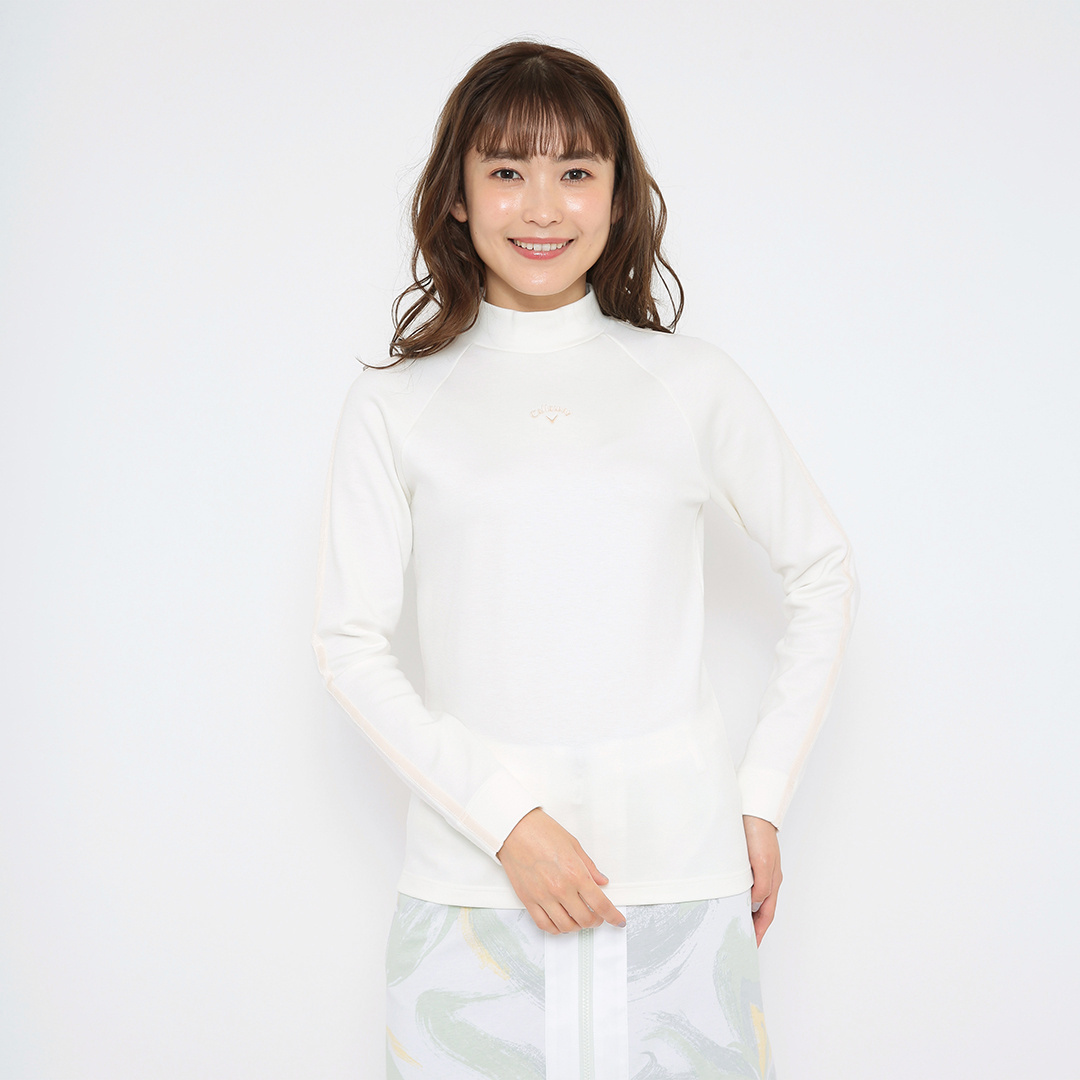 CALLAWAY 吸湿発熱ポンチハイネックシャツ (WOMENS)
