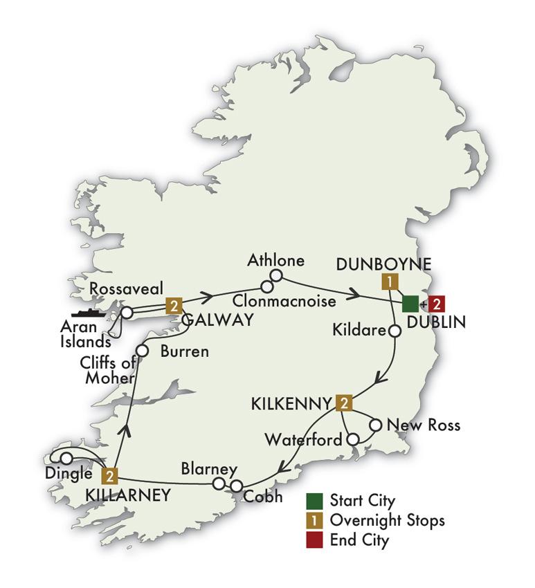 2021 Irish Legends - 10 Days/9 Nights