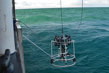 Oceanographic CTD retrieval