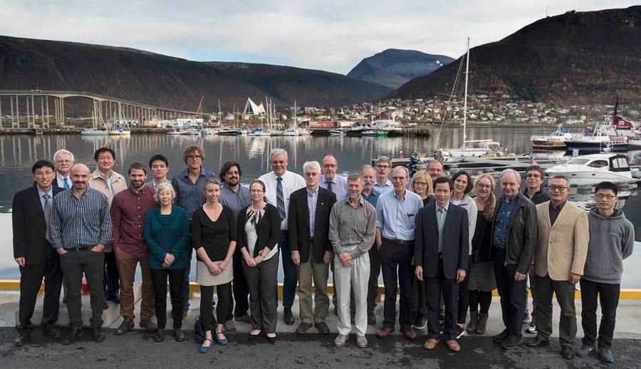 Meeting participants 4th Meeting of Arctic Fish Stocks, September 26 – 28, 2016, Tromsø, Norway.