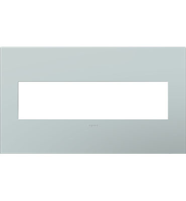 adorne 4-Gang Pale Blue Wall Plate