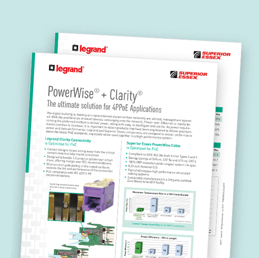 PowerWise & Clarity Data Sheet