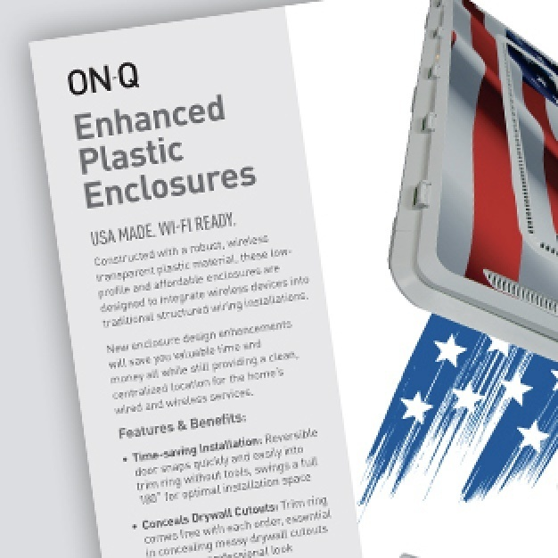 Enhanced plastic Enclosures Sell Sheet