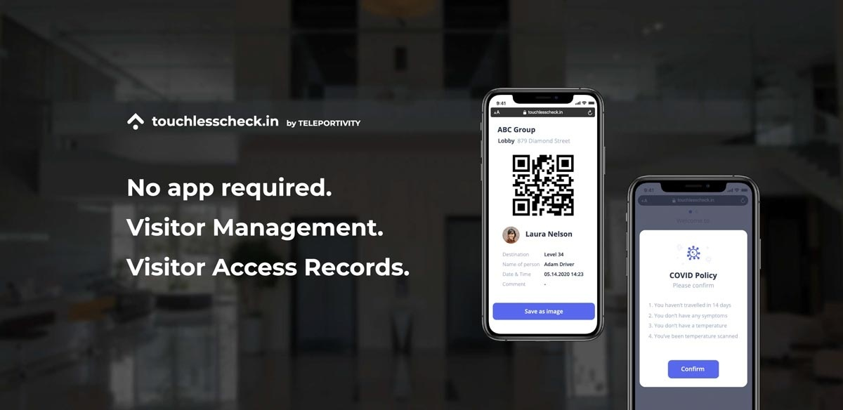 No App Required. Visitor Management. Visitor Access Records