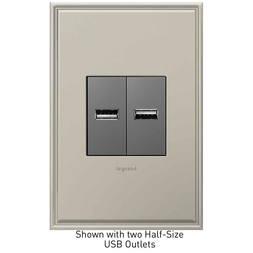 Le Grand Usb Plug Receptacle Wiring Trusted Diagrams Diagram Half Size Outlet Legrand Power Wires