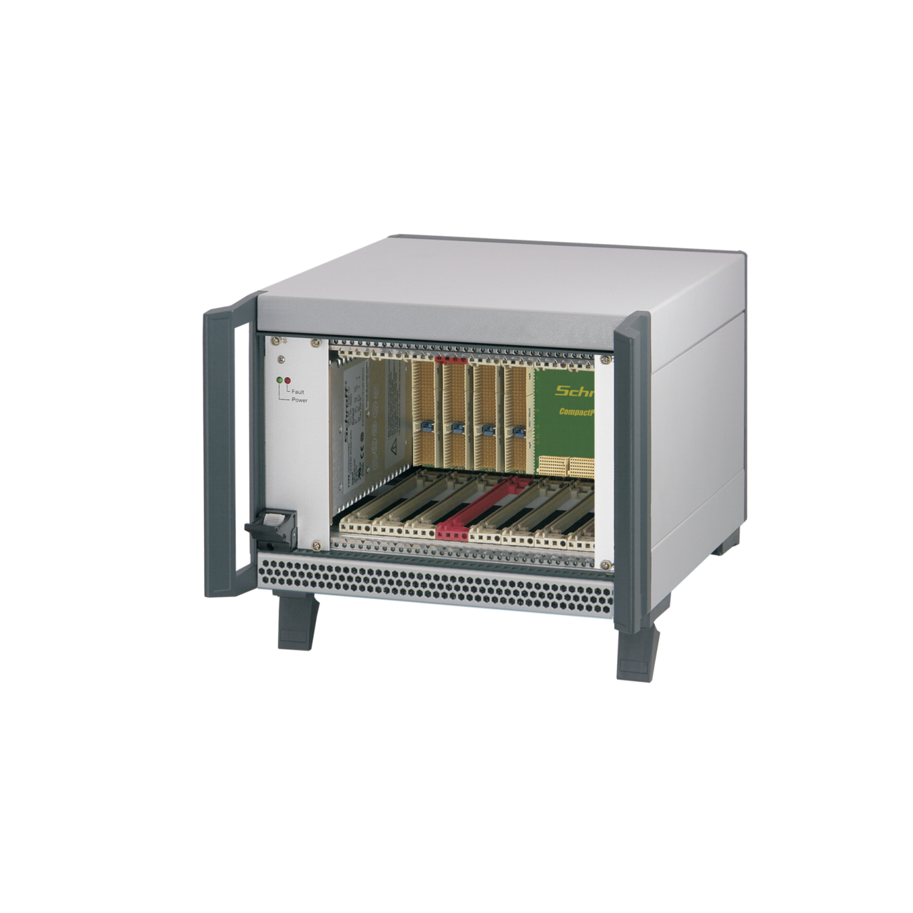 Image for CompactPCI PlusIO 4 U, 8 slot, 44 HP, with rear I/O, with 19