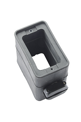 Pass and Seymour Portable Outlet Box and Cover, 3090 Black