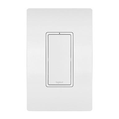white Legrand RF lighting control switch