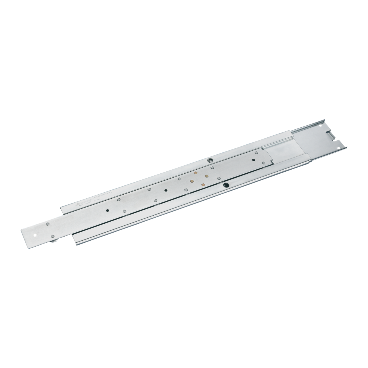 Image for Slim universal telescopic slide, 2 U from Schroff - North America