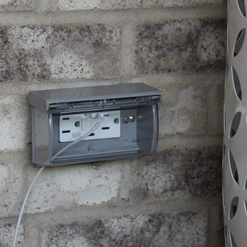 gfci usb weather resistant outlet