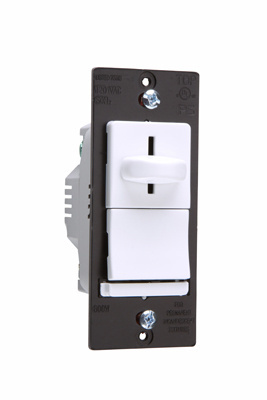 LS Series Incandescent Slide Dimmer, LS603PW