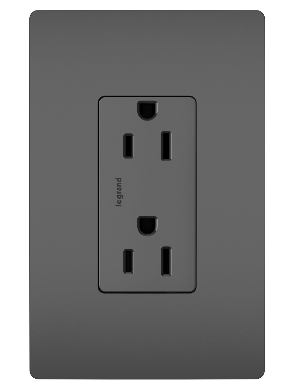 radiant® duplex receptacle, black legrand  star wiring receptacles #2
