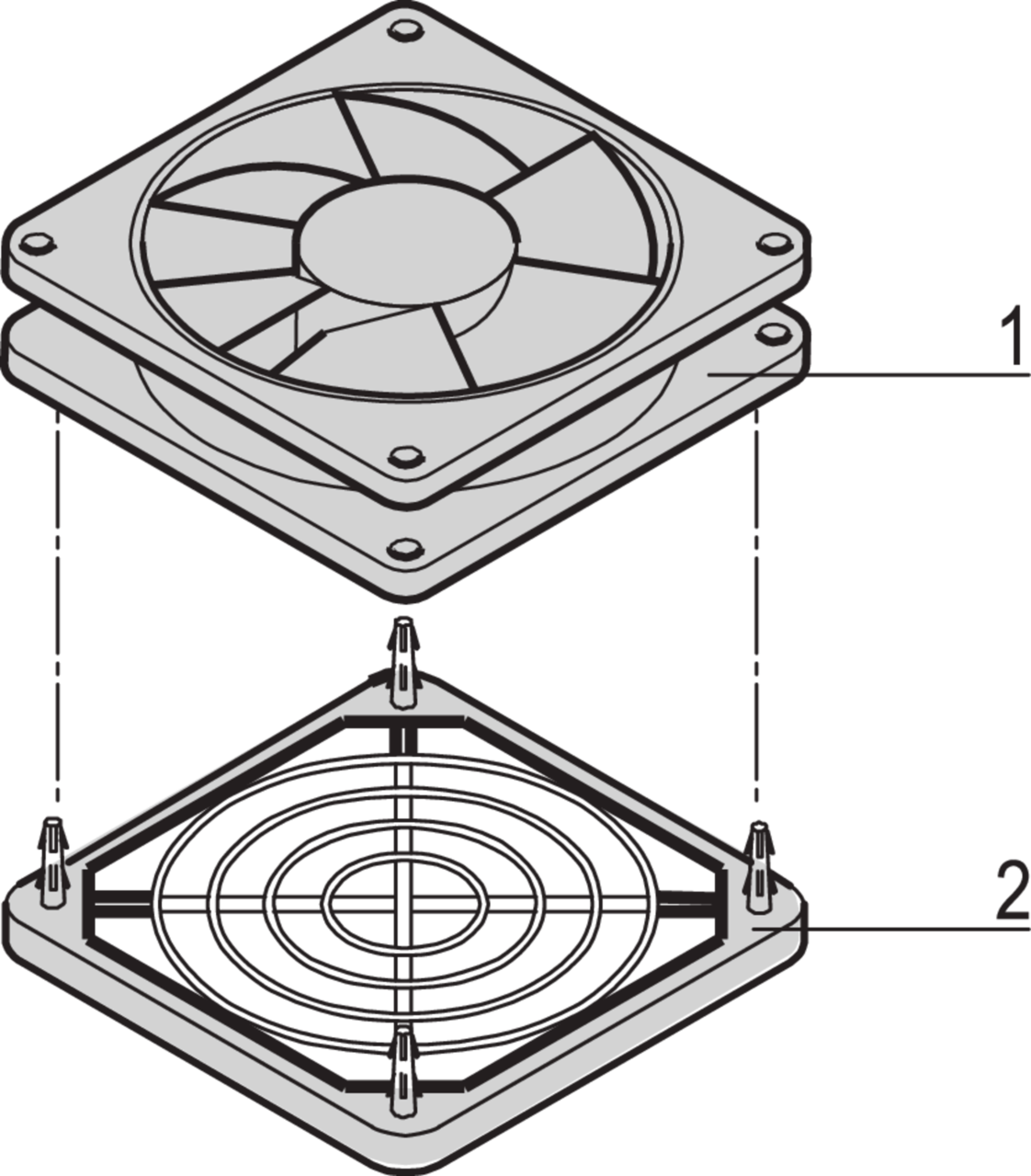 Fan For Eurorack Fan Tray