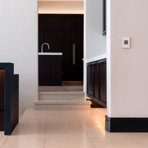 Kitchen walkway