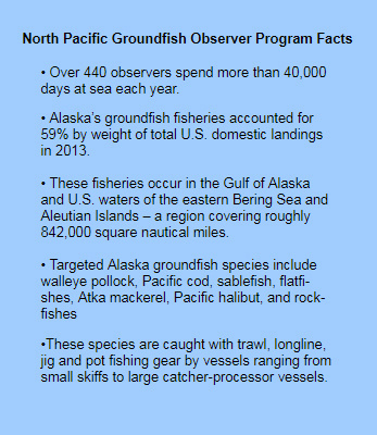 North Pacific Groundfish Observers Program Facts