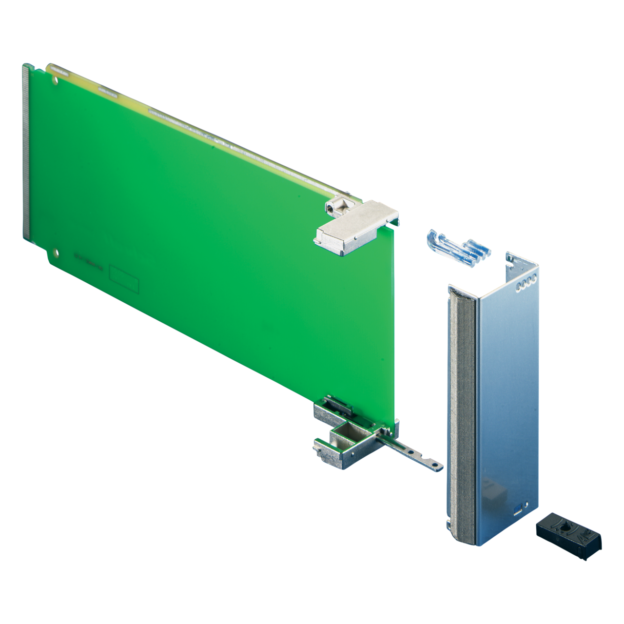 Image for Front panel for module with pull handle mechanism, PICMG AMC.0 R from Schroff - North America