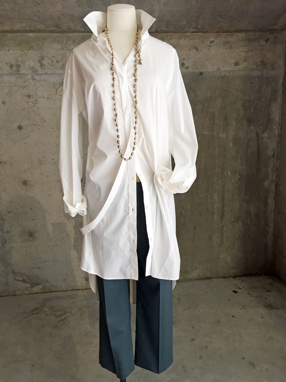 Lilith, white blouse, What to Wear StyleBlueprint Atlanta