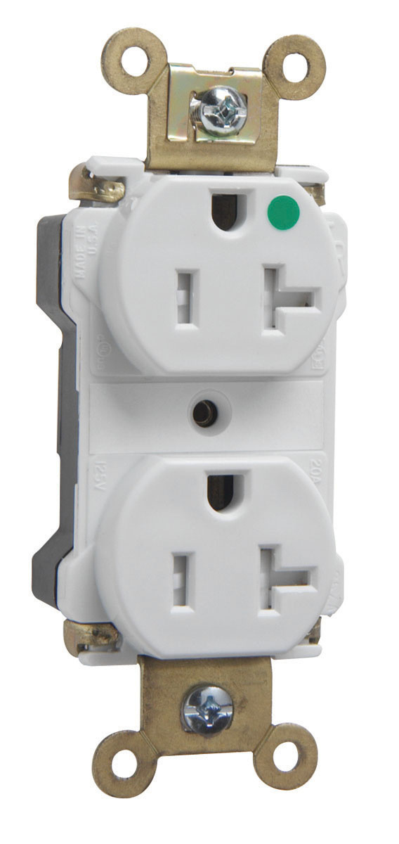 PlugTail® Power Indicating HG Receptacle | PTTR8300PILA | Legrand