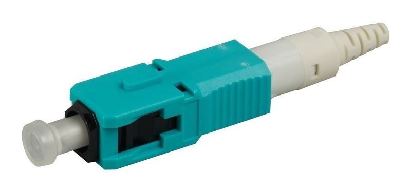 SC PC reusable connector, field-installable