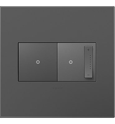 adorne 2-Gang Magnesium Wall Plate