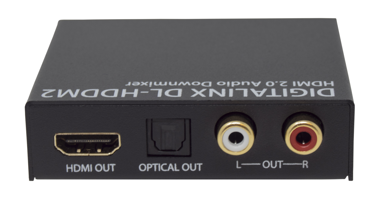 Dl Hddm2 Hdmi 20 18g Multichannel Or 2ch Audio De Embedder With Rs232 Wiring Diagram For Surround Down Mixing
