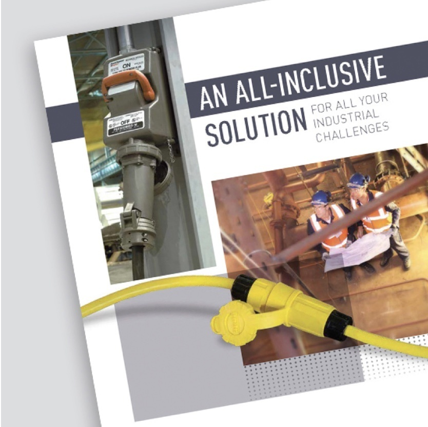 Industrial solutions brochure cover